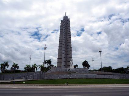 Mémorial José Marti sur la place de la révolution, la Havane