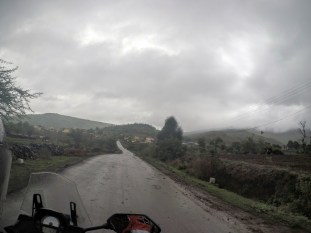 Riding Versys 650 in the rain 2