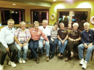 The SOWERS of the month at Camp Tejas:  Robin & Anita, Jenny & Don, Candi & Don and Mary & Lee.