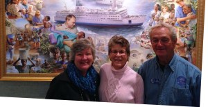 Jenny and Don were the only SOWERs at this ministry this month. Pictured with us is Joan, the ministry's Sower interface.