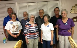 Serving at Potter's House: Don and Jenny, Chuck and Ellie, Vern and Rita and Roy and Mary.