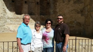 We were able to spend some time with our friends,Emily and Jason, from South Dakota who came to San Diego for a short winter break. Enjoyed a trip to San Juan Capistrano.