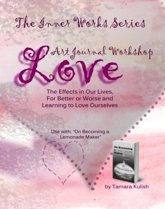 Cover Love Art Journal Workbook front only