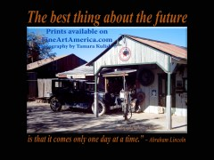 """""""The best thing about the future is that it comes only one day at a time."""" – Abraham Lincoln. One of the quotes which is included in the book """"On Becoming a Lemonade Maker"""" by Tamara Kulish."""