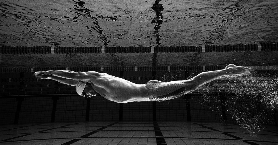 Brett Hawke of Australia during a feature shoot at Somerset College Pool May 7, 2004 on the Gold Coast, Australia. (Photo by Adam Pretty/Getty Images)