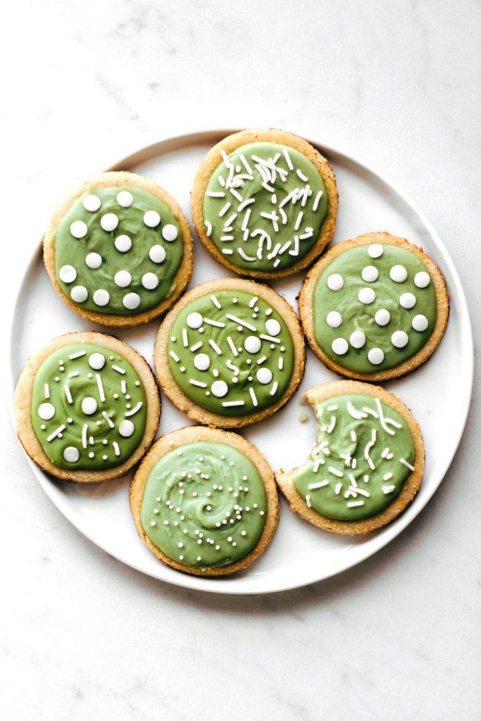 Naturally Green Almond Flour Sugar Cookies