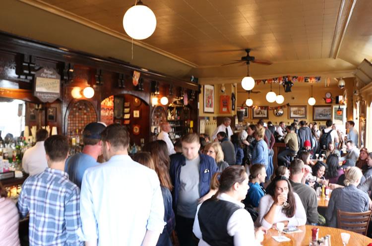 A busy Buena Vista Cafe San Francisco