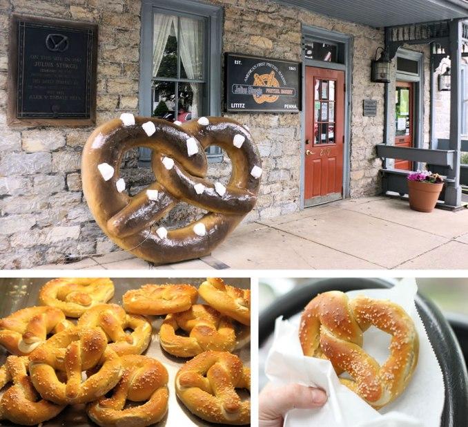 Lancaster Road Trip Stop: Julius Sturgis Pretzel Bakery In Lititz, PA