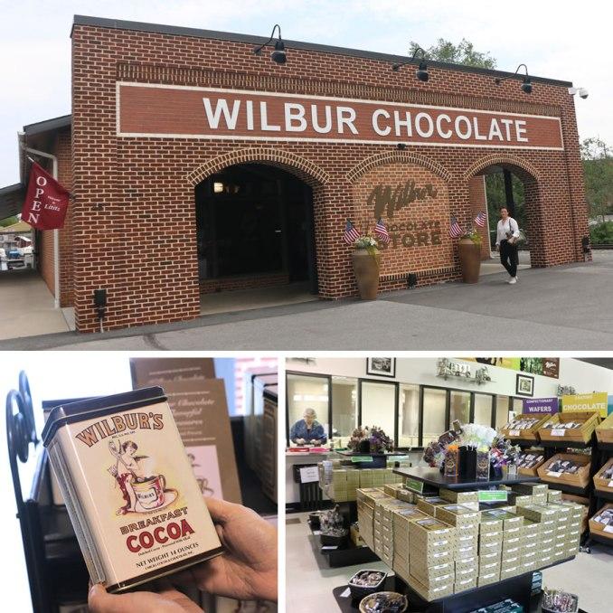 Visiting Wilbur Chocolate In Lititz PA