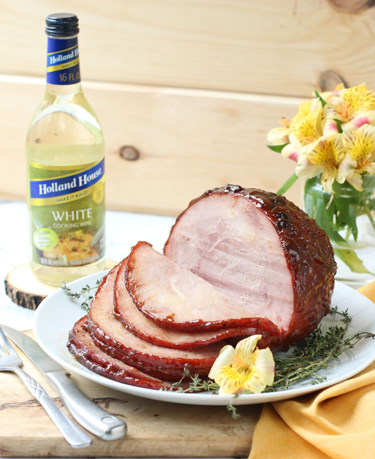 Easter Ham Recipe: Peaches, Honey And Wine Glazed Ham With Thyme