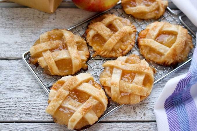 Easy Mini Apple Cheddar Pies Recipe | Better Living