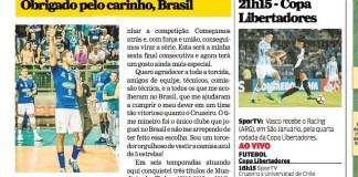 YOANDY LEAL ESCREVE PARA O LANCE!