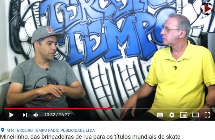 Sandro Dias comenta sobre o Camp no Terceiro Tempo
