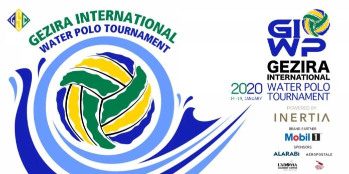 Gezira International Water Polo Tournament será realizado entre os dias 14 e 19 de janeiro