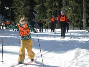 Ski with the Blind @ Teacup Lake Nordic Center | Oregon | United States