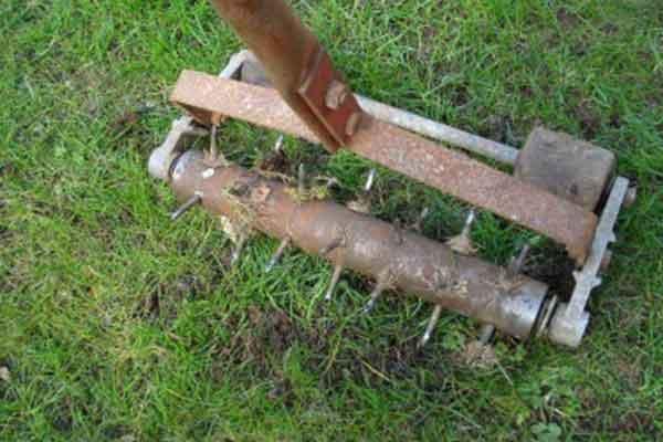 Aeration & Power Raking | Landscaping & Hardscaping