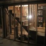 Basement Level Wall Framing For New Basement Stairs Home Improvement Blog