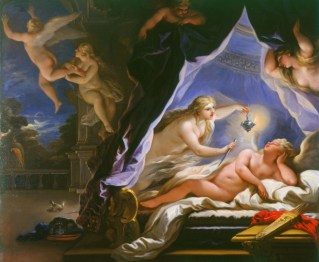 Psyche Discovering the Sleeping Cupid by Luca Giordano