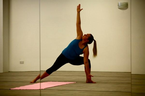Introduction Bikram Yoga Wearing Lululemon
