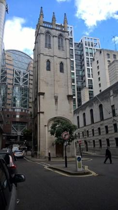 Vestige du vieux Londres
