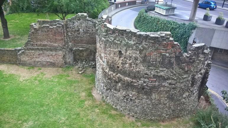 Anciens remparts de Londres