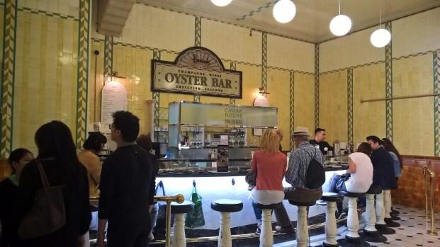 Oyster Bar, bar à huitres