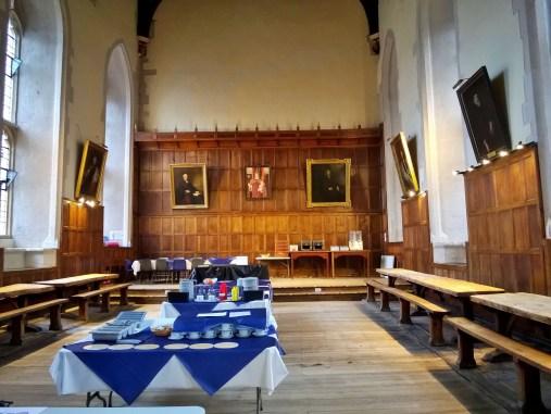 Salle à manger du Winchester College