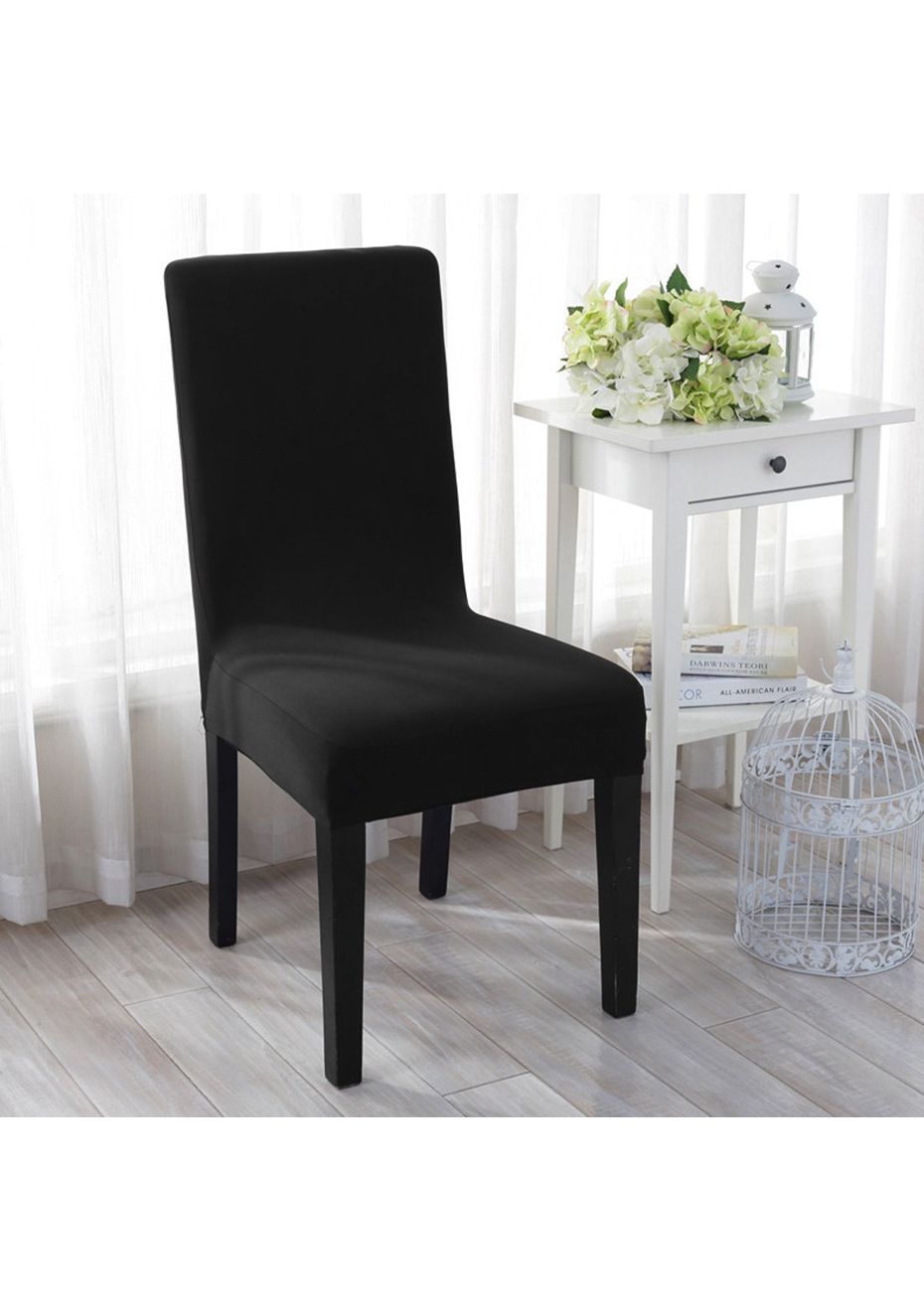 Dining Chair Slipcover Dining Chair Slipcovers Set Of 4 Black