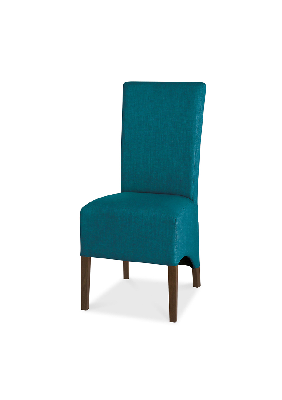 Teal Wingback Chair Fbd Nina Wingback Chair Walnut And Teal