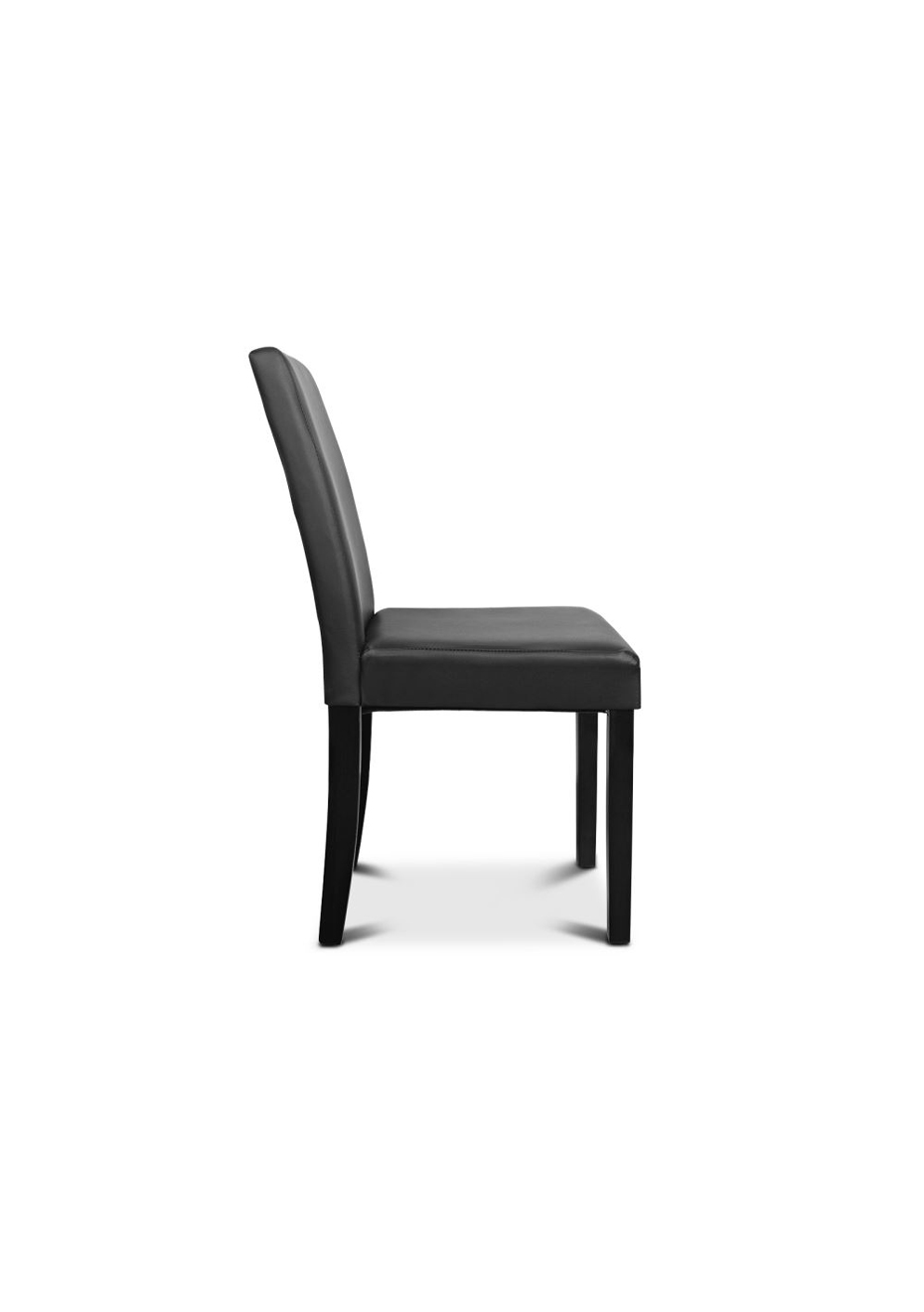 Dining Chair Set Of 2 Modern Mid Back Dining Chair Set Of 2 Black