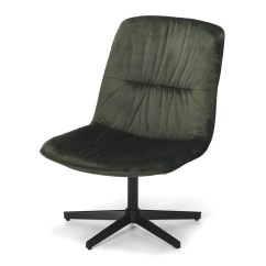Green Velvet Swivel Chair Flux Folding Video Furniture By Design Dark More Onceit