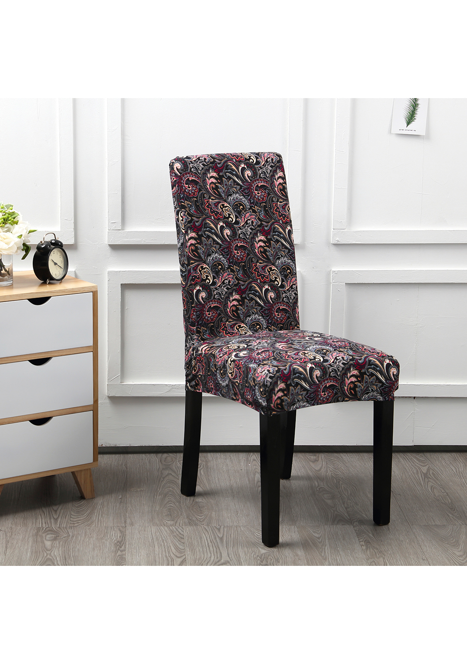 Dining Chair Slipcover Dining Chair Slipcovers Set Of 4 Feather