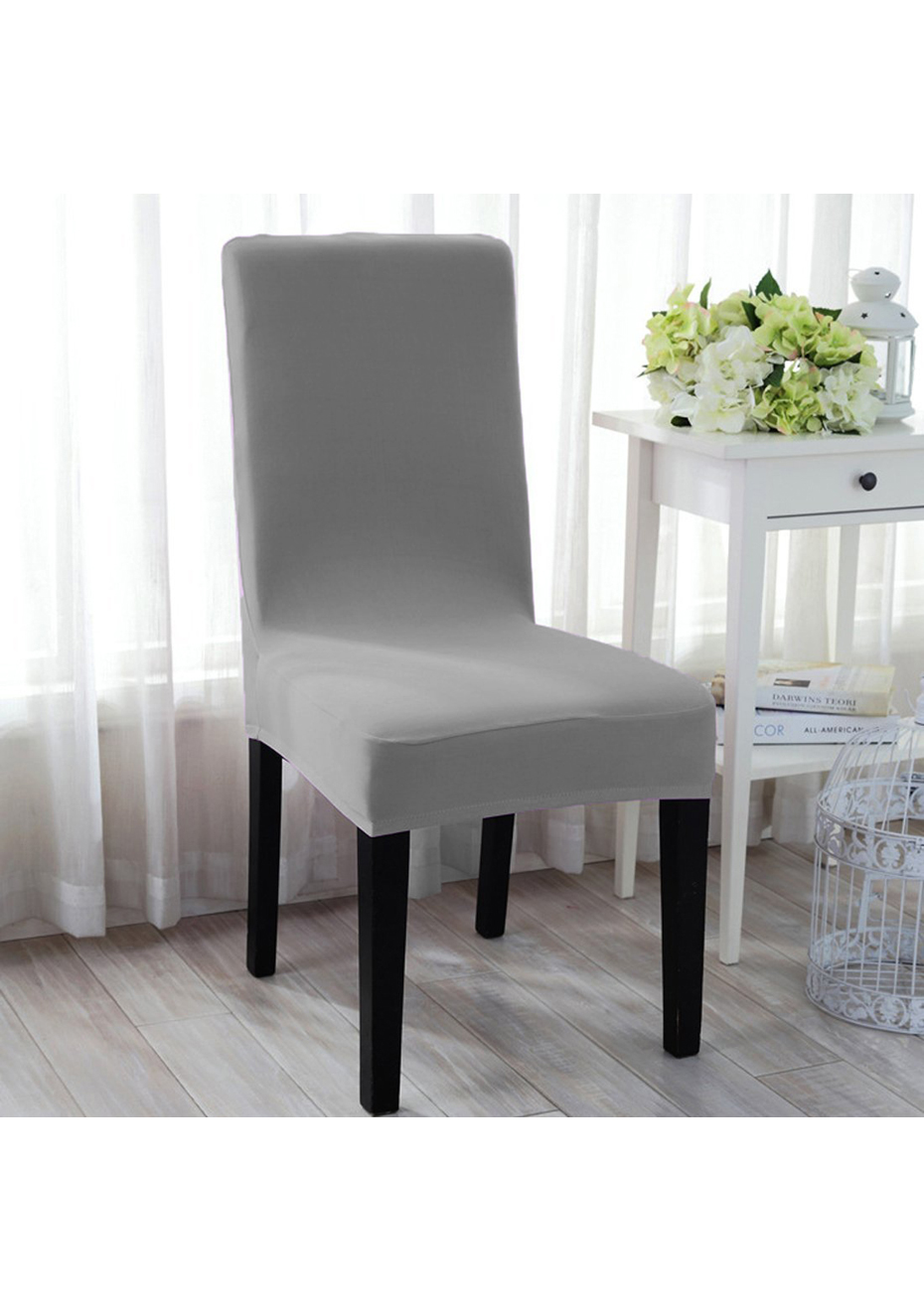 Dining Chair Slipcover Dining Chair Slipcovers Set Of 4 Grey
