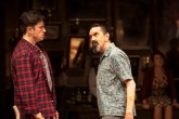 Landmark Productions presents Once at the Olympia Theatre, 30 June - 26 August, 2017 oncemusical.ie L-R Brian Gilligan as Guy and Phelim Drew as Billy Photo:Patrick Redmond