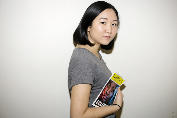 """""""Theater empowers me because there is something so pure about being present in the moment whether you are an audience member or on stage. """"Eclipsed"""" is a play written, directed, and acted by all women of color and it inspires me because as a person of color myself, there is nothing more gratifying than having your voice heard."""" - Stella Kang #CELEBRATEWOMEN"""