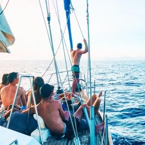 Sailing boat Ibiza Formentera