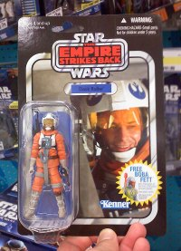 Empire Strikes Back Dack figure with retro packaging