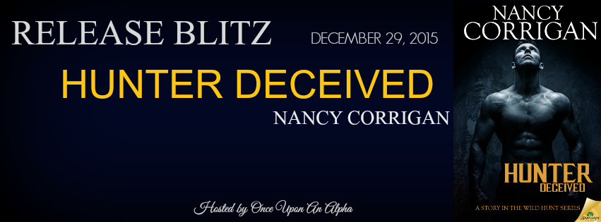 Hunter Deceived by Nancy Corrigan tour with giveaway !