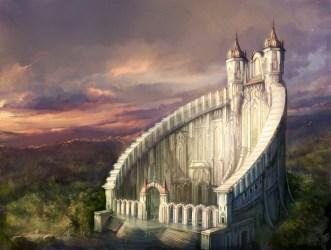 Beautiful Fantasy Castle Art