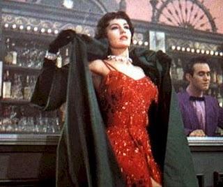 Cyd Charisse Bandwagon red dress 2