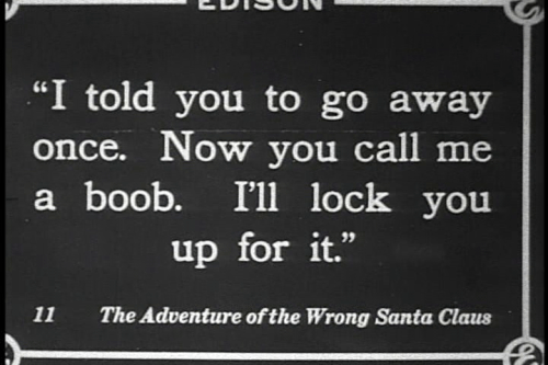 THE ADVENTURES OF THE WRONG SANTA CLAUS 1914