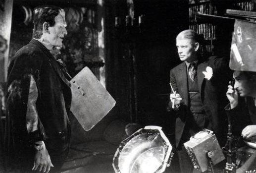 Directing Karloff