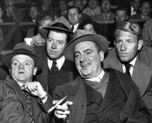 Part of Hollywood's Irish Mafia- Cagney, McHugh, O'Brien & Tracy