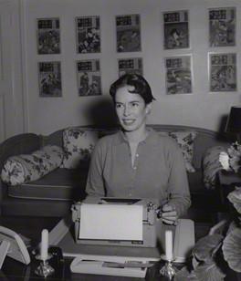 NPG x195066; Oona Chaplin (nÈe O'Neill) by Francis Goodman