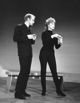 Fosse and Verdon in 1962