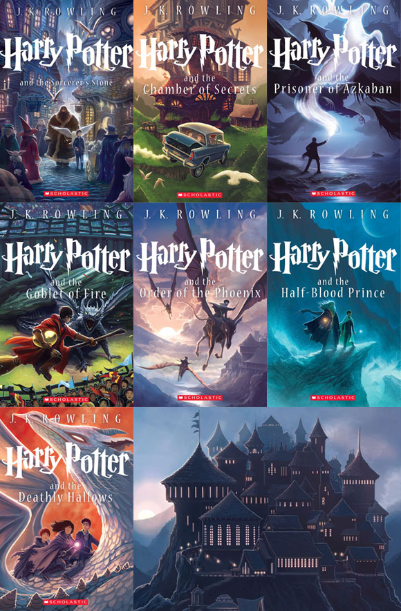 New Harry Potter Complete Collection Box Set Collector's