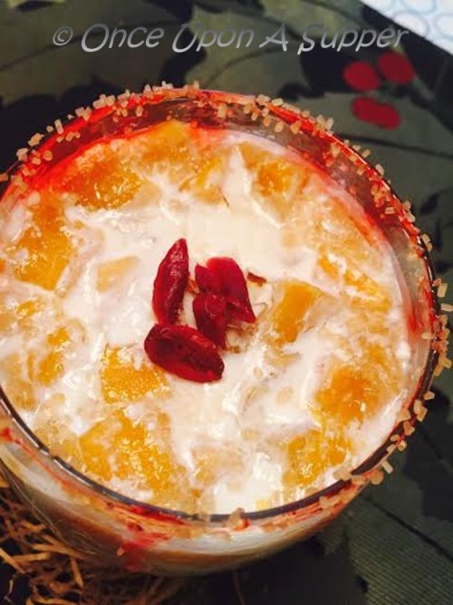 Indian Sweet Yogurt with Mango (Meetha Dahi or Mishti Doi)