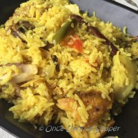 Muri Ghonto -- a traditional Bengali Fish-head Pilaf