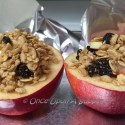 Stuffed and Baked Apples -- a seriously Delicious, power packed snack!