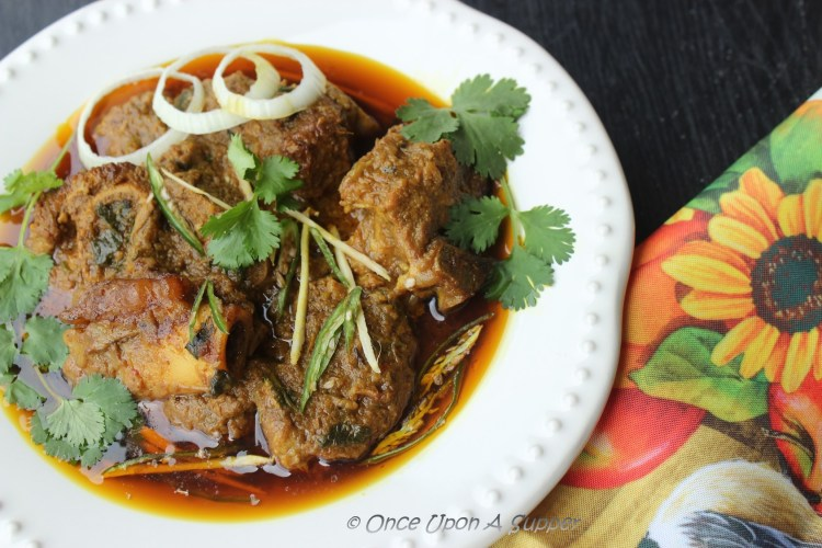 Mutton Korma — a heritage goat meat curry recipe
